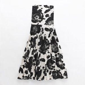 J. Crew Strapless Blossom Sanur dress
